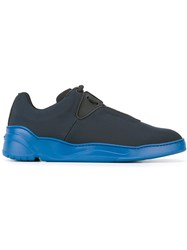 Christian Dior Homme Ridged Sole Sneakers Blue
