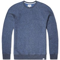 Norse Projects Vorm Crew Sweat Blue