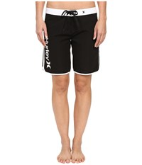 Hurley Supersuede Solid 9 Beachrider Boardshorts Black Women's Swimwear