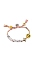 Venessa Arizaga Dont Worry Bee Happy Bracelet Sunset Melange