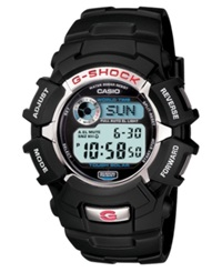 G Shock Men's Chronograph Black Resin Bracelet Watch G2310r 1