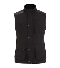 Ralph Lauren Black Label Leather Trim Gilet