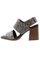 Vagabond Lea Sandals Almond Multicolor Grey