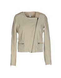 Hoss Intropia Coats And Jackets Jackets Women Beige