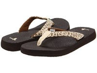 Sanuk Yoga Wildlife Cheetah Women's Sandals Animal Print