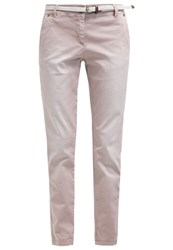 S.Oliver Chinos Washed Rusty Red Rose