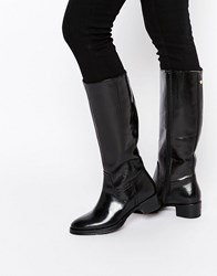 Ravel Leather Riding Boots Black