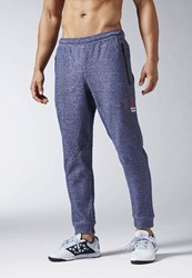 Reebok Crossfit Tracksuit Bottoms Collegiate Navy Blue