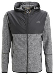 New Balance Space Sports Jacket Black Heather