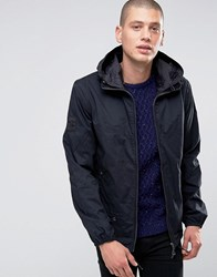 Pretty Green Jacket With Hood In Black Black