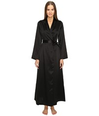 La Perla Silk Long Robe Black Women's Robe