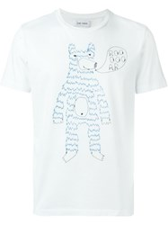 Jimi Roos Embroidered Bear T Shirt