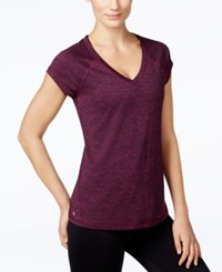 Ideology Rapidry Heathered T Shirt Only At Macy's Sweet Fig