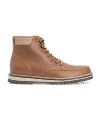 Lacoste Camel Montbard Leather Boots