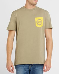 The North Face Brown Chest Pocket Pr T Shirt