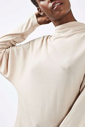 Boutique Batwing Funnel Neck Top By Putty