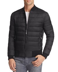 Superdry Fuji Quilted Bomber Jacket Black