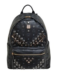 Mcm Medium Stark Faux Leather Backpack