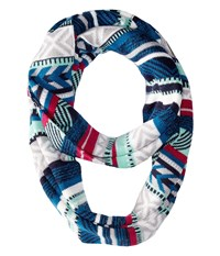 Smartwool Camp House Scarf Glacial Blue Scarves