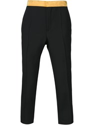 Haider Ackermann Waistband Trousers Black