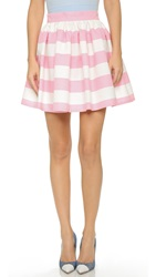 Partyskirts By Skot Striped Party Skirt Pink White Stripe