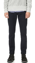 Frame L'homme Straight Leg Twill Jeans Navy