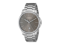 Gucci G Timeless Large Brown Dial Steel Bracelet