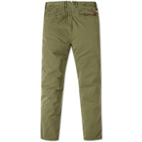 Incotex Garment Dyed Tapered Washed Chino Brown