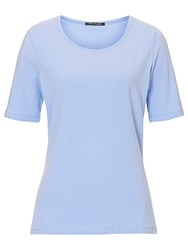 Betty Barclay Short Sleeved Basic T Shirt Frosted Blue