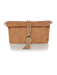 Biba Foldover Shoulder Bag Camel