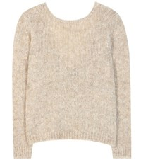 Tom Ford Mohair Blend Sweater Beige