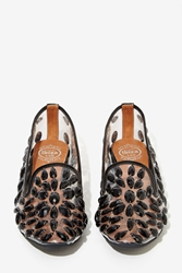 Nasty Gal Jeffrey Campbell Elegant Jeweled Loafers