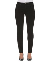 Driftwood Cotton Blend Ankle Length Jeans Black