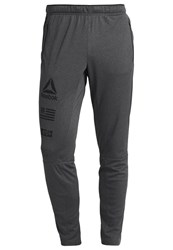 Reebok Tracksuit Bottoms Dark Grey Heather