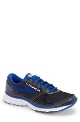 Brooks Men's 'Launch 3' Running Shoe Anthracite Electric Blue