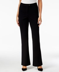 Styleandco. Style And Co. Ponte Knit Flare Leg Pants Only At Macy's
