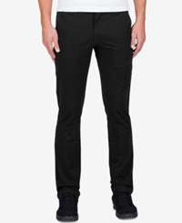 Volcom Men's Frickin Slim Fit Chinos Black
