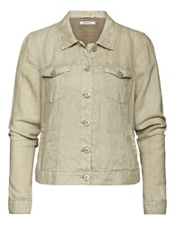 Sandwich Linen Jacket Brown