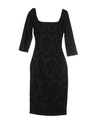 Siviglia Dresses Knee Length Dresses Women Black