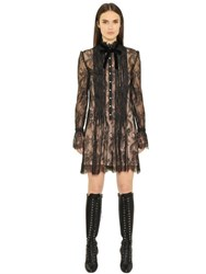 Philosophy Di Lorenzo Serafini Pleated Lace Dress With Slip
