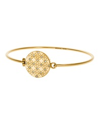 Michael Kors Monogram Tension Bangle Gold