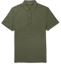Michael Kors Cotton Polo Shirt Green