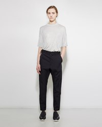 Zucca Buckle Tab Trouser Navy