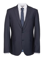 Paul Costelloe Modern Fit Airforce Blue Suit Jacket Navy