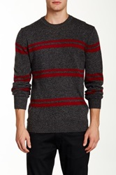 Ben Sherman Stripe Story Wool Blend Sweater Multi