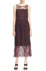 Tracy Reese Women's Lace Inset Jersey Dress