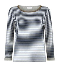 Claudie Pierlot Toudoux Breton Top Female Blue