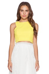 J.O.A. Tank Top Yellow