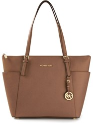 Michael Michael Kors Large Tote Bag Brown