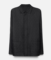 Christopher Kane Heart Jacket Shirt Black